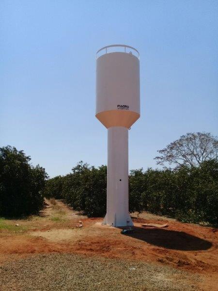 Fábrica de caixa d'água metálica