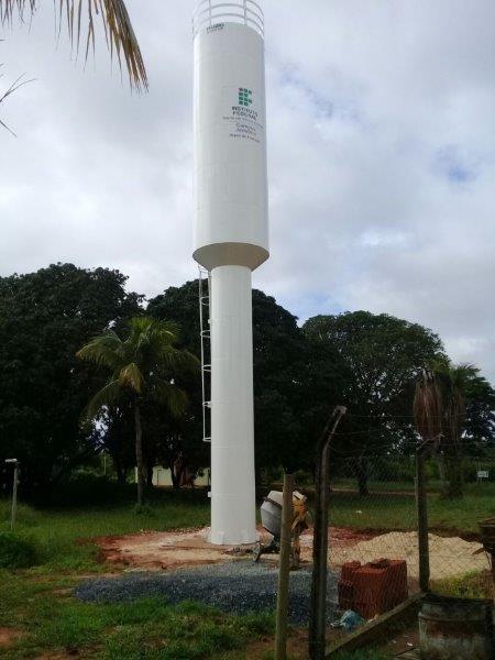 Caixa d'água coluna seca