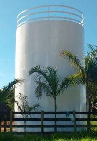 Caixa d água metálica preço