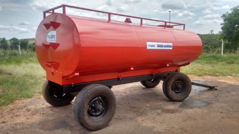 Carreta tanque agrícola para trator