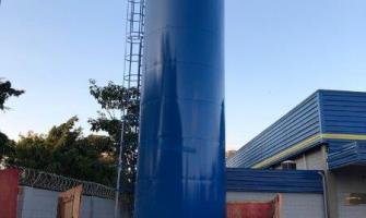 Fabrica de caixa d'água metálica